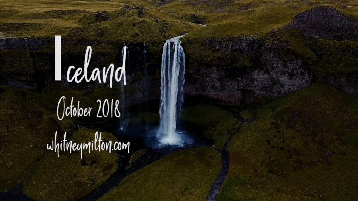 Adventure elopement videographer in Iceland