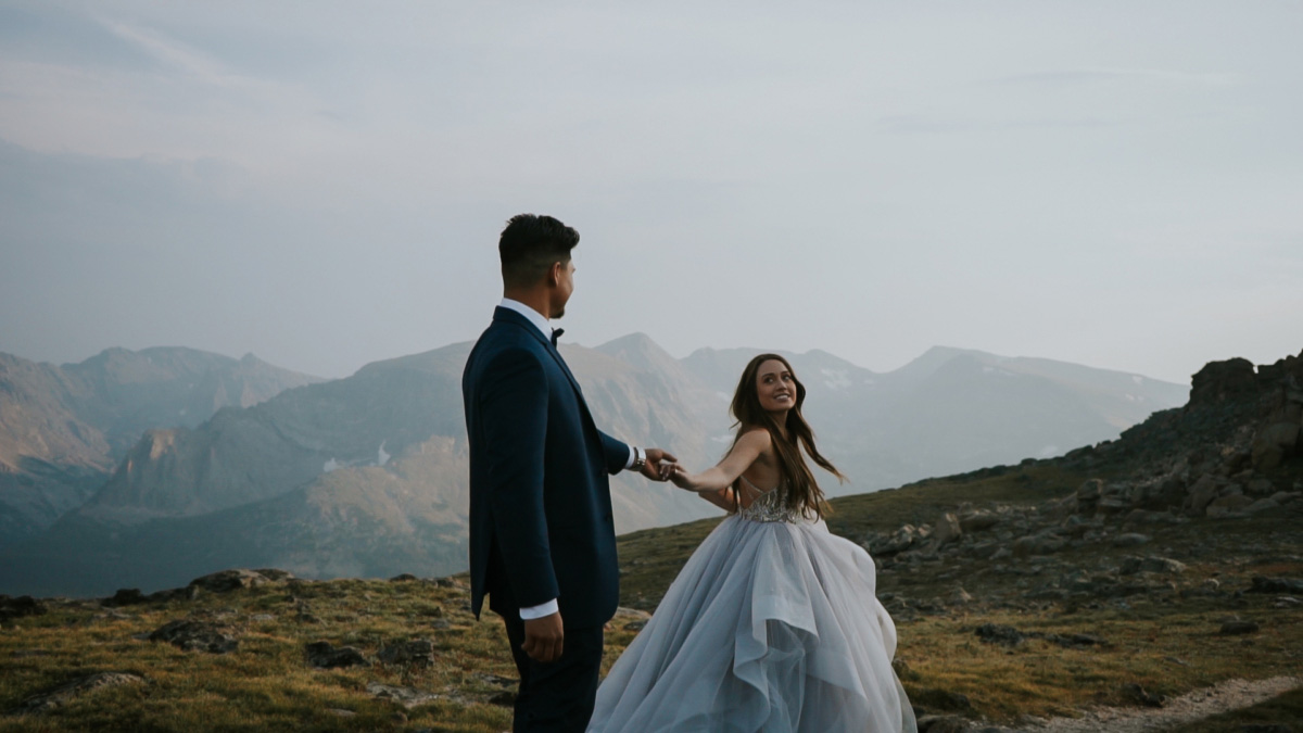 Morgan and Alex's Rocky Mountain National Park Elopement