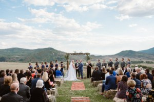 Wedding in Steamboat Springs, Colorado