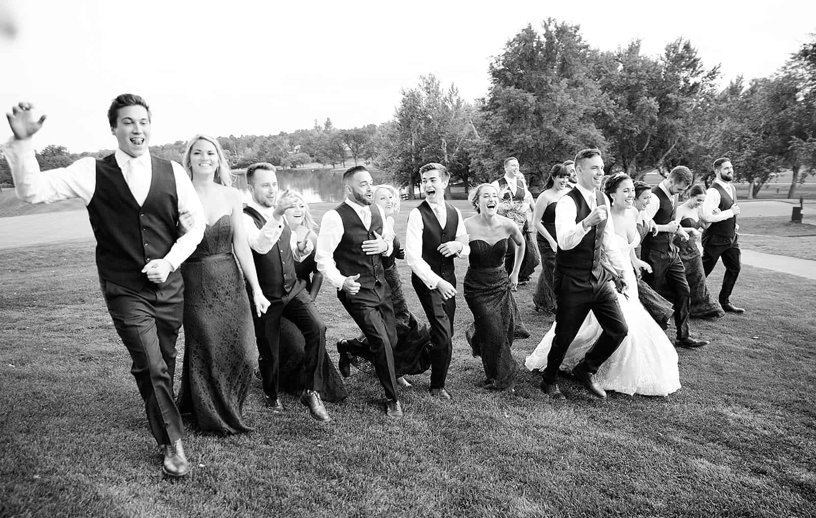 Cherry Hill Country Club Wedding Party