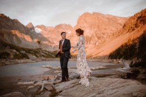 first look at Colorado Elopement