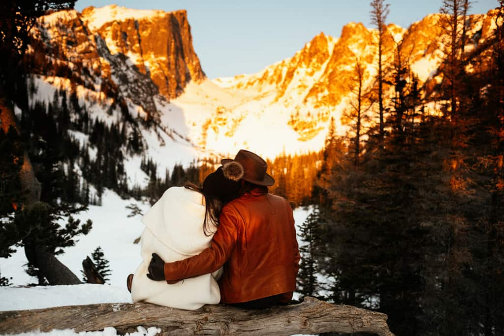 Sunrise Elopement at Rocky Mountain National Park
