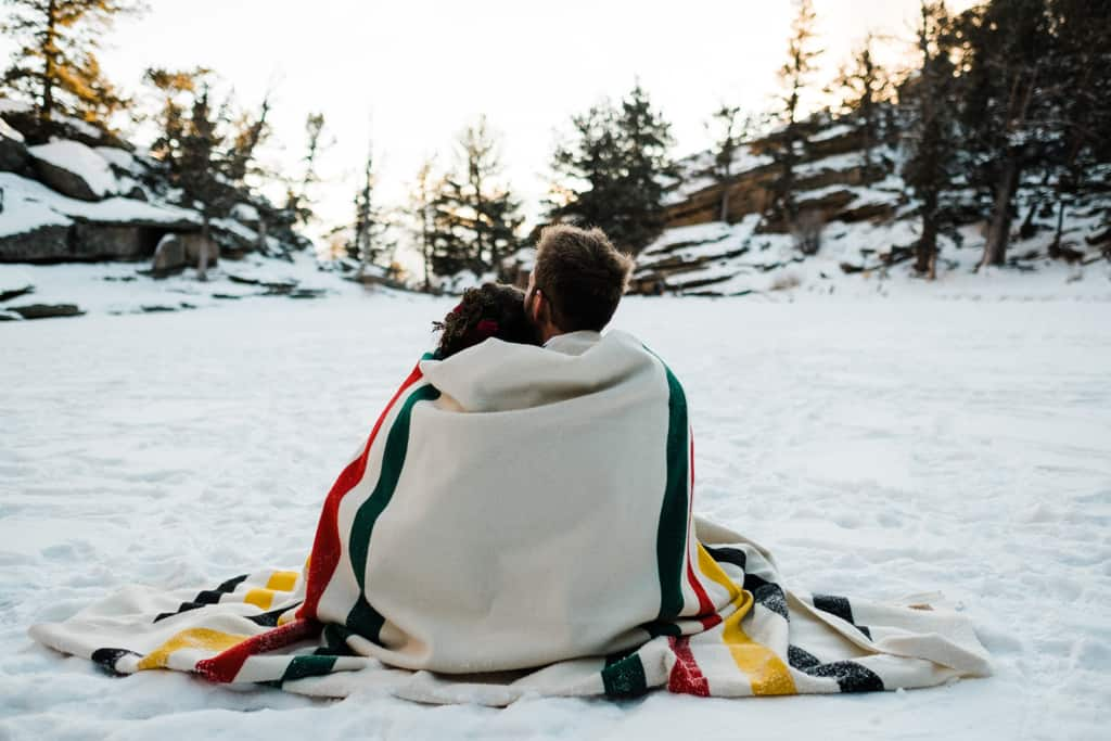 Winter Elopement Rocky Mountain National Park