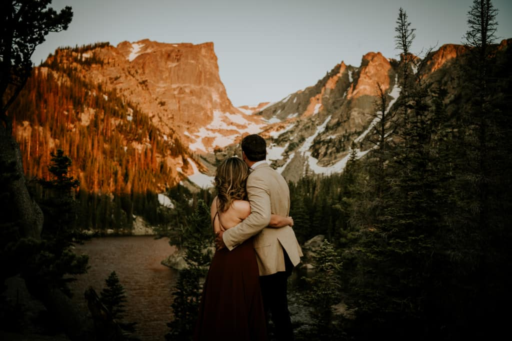 Rocky Mountain National Park wedding location in Colorado Elopement Package
