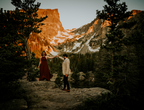 Dream Lake Rocky Mountain National Park Session