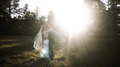 la foret wedding ceremony