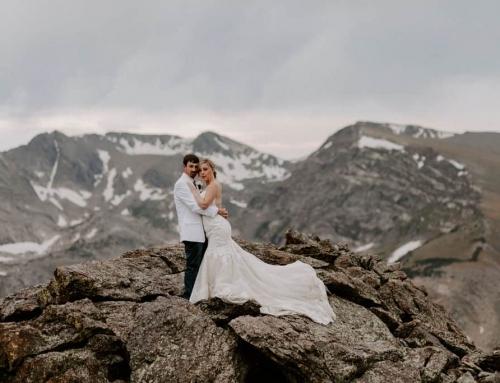 Choosing an elopement dress